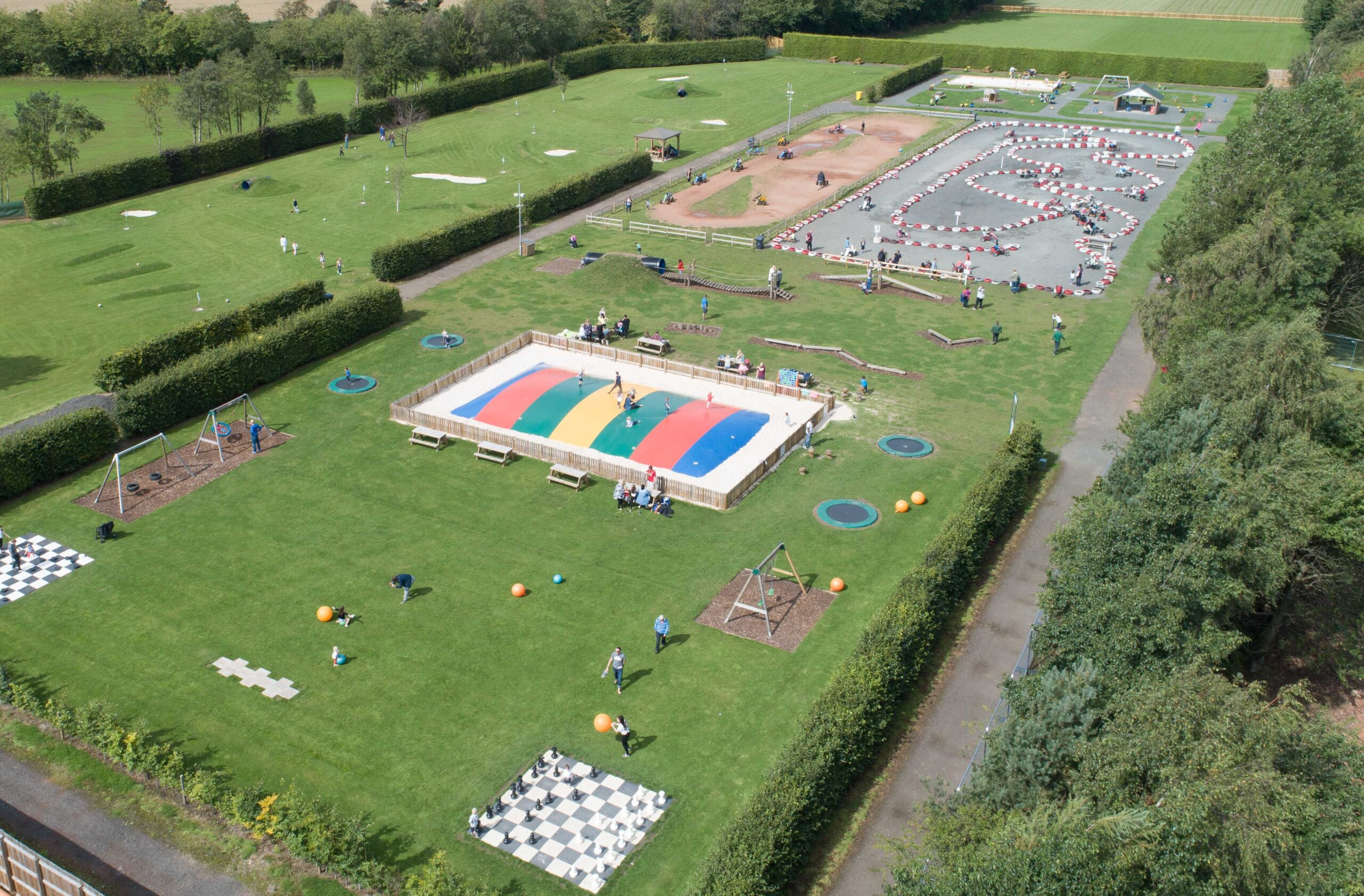 Image showing Conifox Adventure Park
