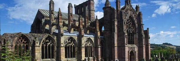 Image showing Melrose Abbey