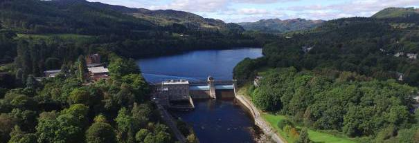 Image showing Pitlochry Dam Visitor Centre