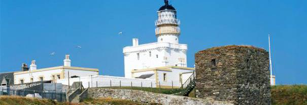Image showing Kinnaird Head Castle Lighthouse and the Museum of Scottish Lighthouses