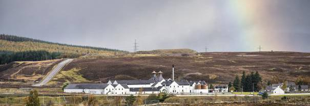 Image showing Dalwhinnie Distillery