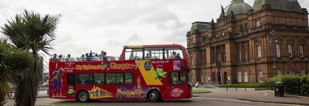 Image showing City Sightseeing Glasgow
