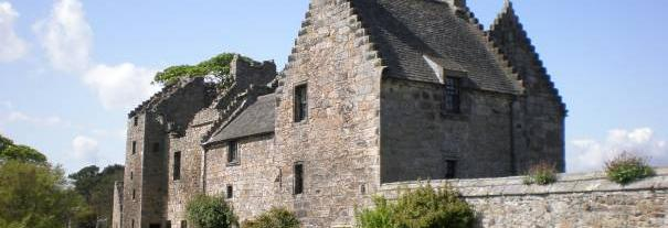 Image showing Aberdour Castle and Garden