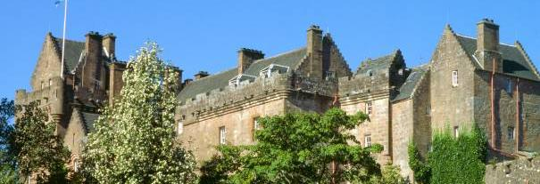 Image showing Brodick Castle, Garden & Country Park
