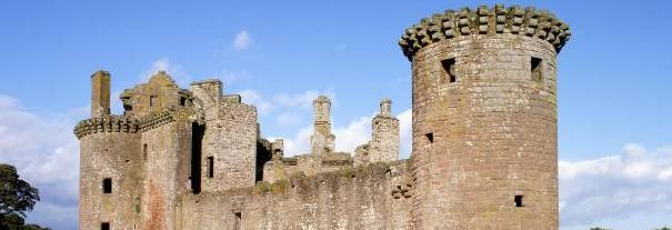 Image showing Caerlaverock Castle