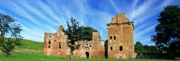 Image showing Edzell Castle and Garden