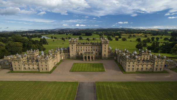 Image showing Floors Castle & Gardens
