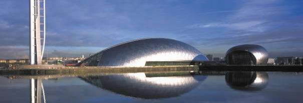 Image showing Glasgow Science Centre