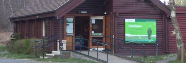Image showing Glentrool Visitor Centre, Galloway Forest Park